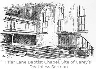 Friar Lane Baptist Chapel